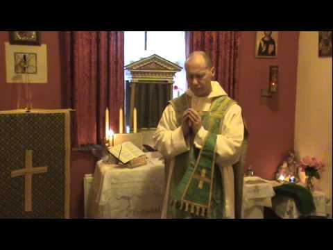 Fr. David Jones - Dawn Mass at Hermitage