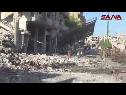 Deadly explosions at Syrian Government buildings