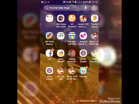 Hướng dẫn cài đặt app j2me Loader treo ninja và game jar khác