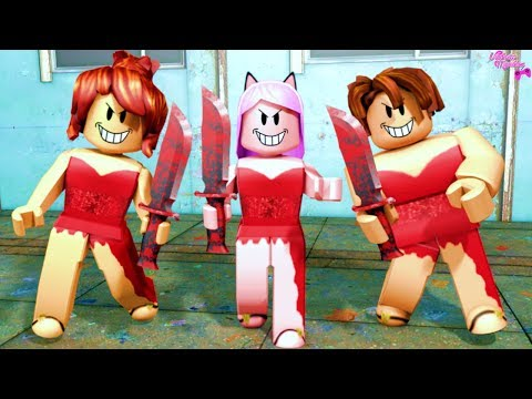 Roblox- TRÊS MENINAS DO VESTIDO VERMELHO? (Survive The Red Dress Girl)