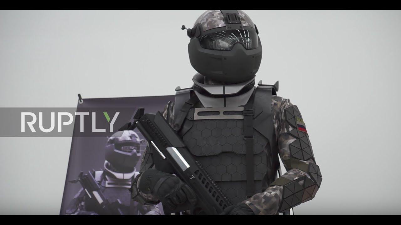 Защита в стиле «киберпанк»: МО РФ передали «Ратник» третьего поколения