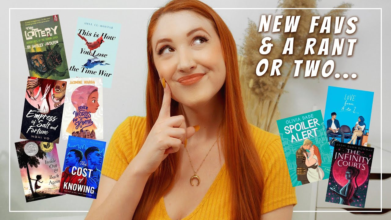 May Reading Wrap Up & a Rant (how many YA tropes can exist in a single book?!?)
