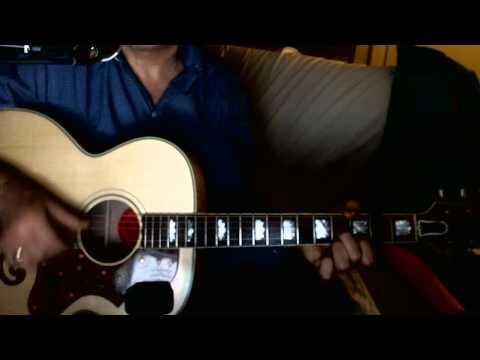 Schneewalzer ~ Pitztaler - Tiroler Nachtigalln ~ Interpretation Akustikgitarre Gibson SJ-200 TV
