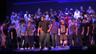 Los Alamitos High school Pops- Show Choir Behind the Scenes 2013