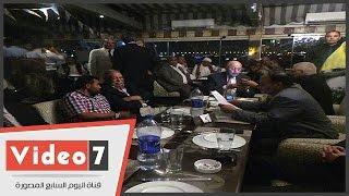 بالفيديو.. سوء تنظيم بحفل سحور حزب الغد بعد مؤتمر تدشين