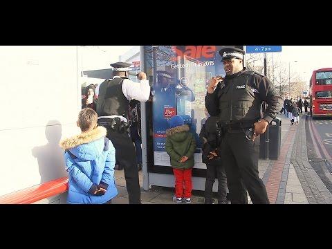 Police arresting 5 year Old Kids