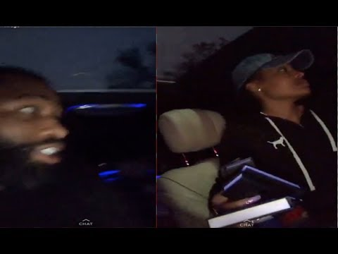 Adrien AB Broner & Wife Playful Argument In Car