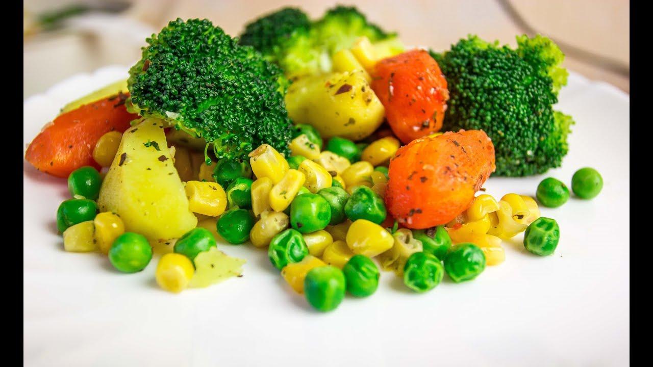 как правильно варить овощи?!