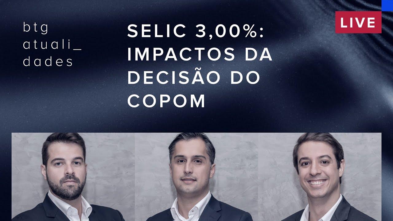 Como ficam seus investimentos com mais um corte na Selic?