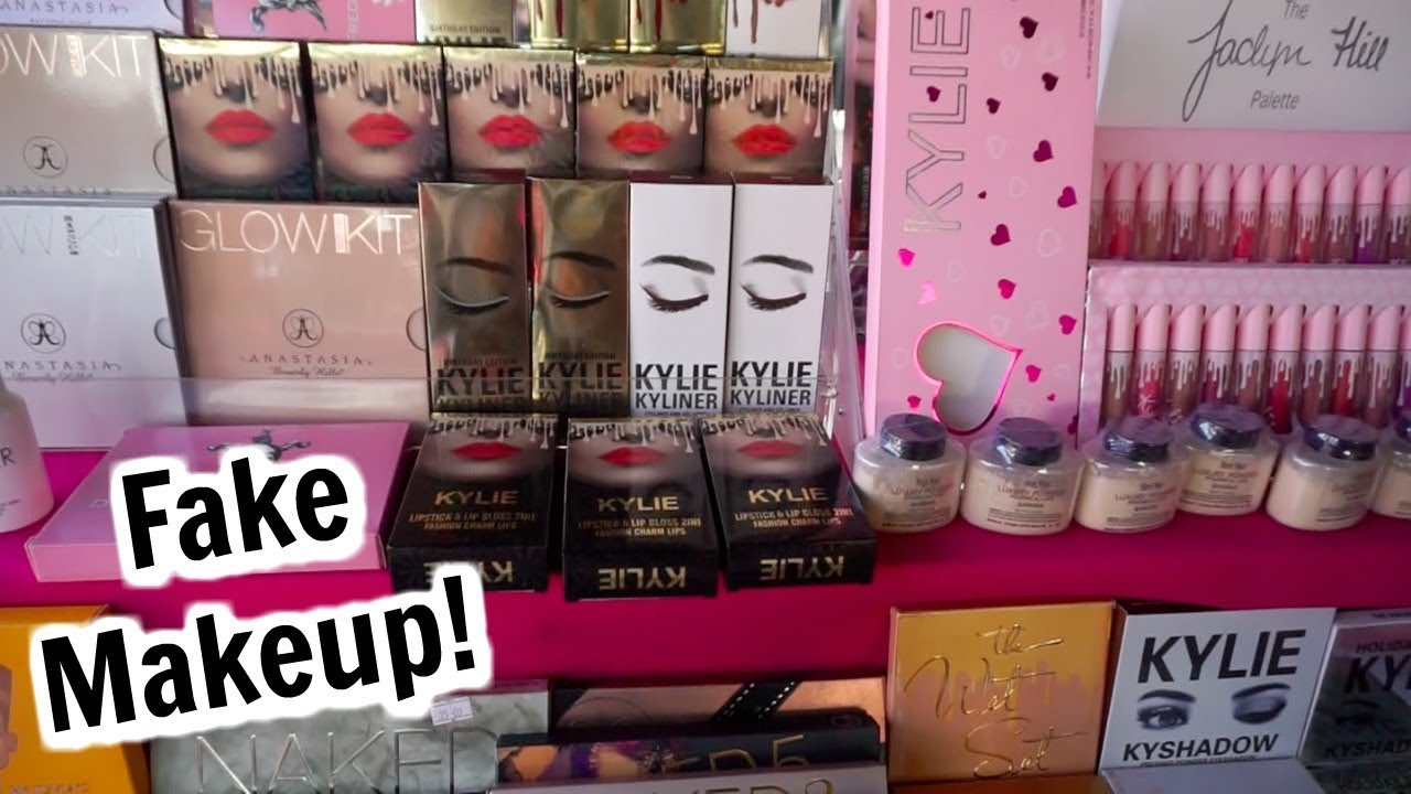 Fake High End Makeup in Los Angeles!? (Kylie Cosmetics, ABH, Jeffree Star, Too Faced, and More!)