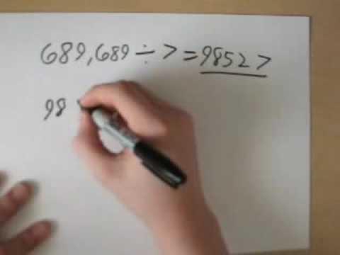 Cool Math Trick