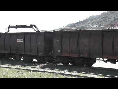 HSH T669 1032 with train to Shkoder (Albania)