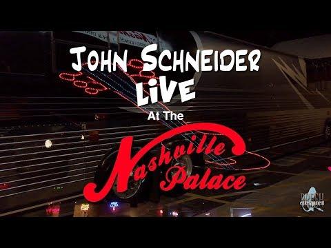 John Schneider @ the Nashville Palace   Fun