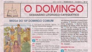 PCJ; Vídeo-texto; Liturgia; O DOMINGO 2014 Nº 37