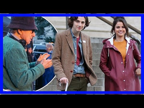 [Breaking News]Timothée Chalamet, finance salaries of Woody Allen films