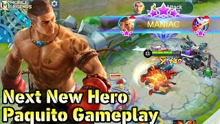 Next New Hero Paquito The Heavenly Fist - Mobile Legends Bang Bang