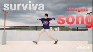 Vivegam movie /surviva song /dance performance