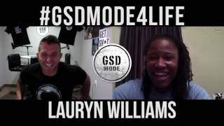 Olympic Silver Medalist Turned Successful Entrepreneur! GSD Interview with Lauryn Williams
