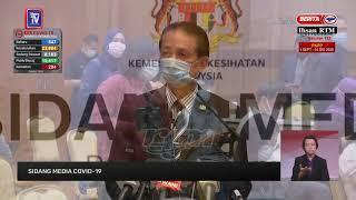 [LANGSUNG] Sidang media Ketua Pengarah Kesihatan berhubung perkembangan terkini Covid-19 di Malaysia