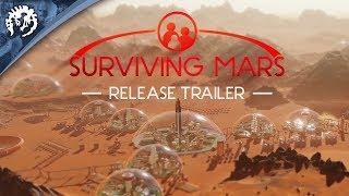 Surviving Mars - Release Trailer