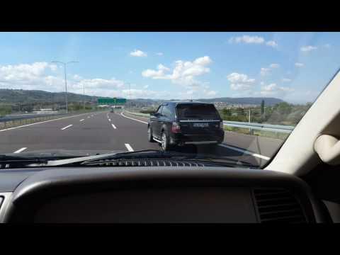 Range Rover Sport 3.6 TDV8 vs Lincoln Aviator 4.6 V8  **Rolling race**
