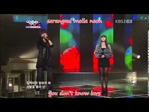 [live] Song Jieun - Going Crazy Lyrics [Rom+Eng]