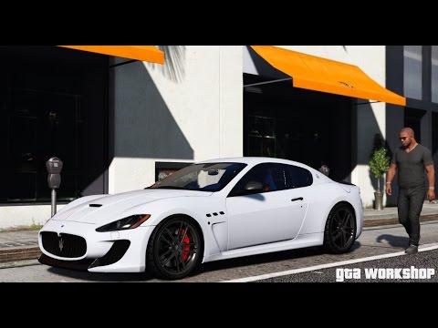 GTA 5 | Maserati GranTurismo MC Stradale | GTA V PC MOD