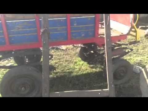 Vendo carro de caballo 4 ruedas - YouTube