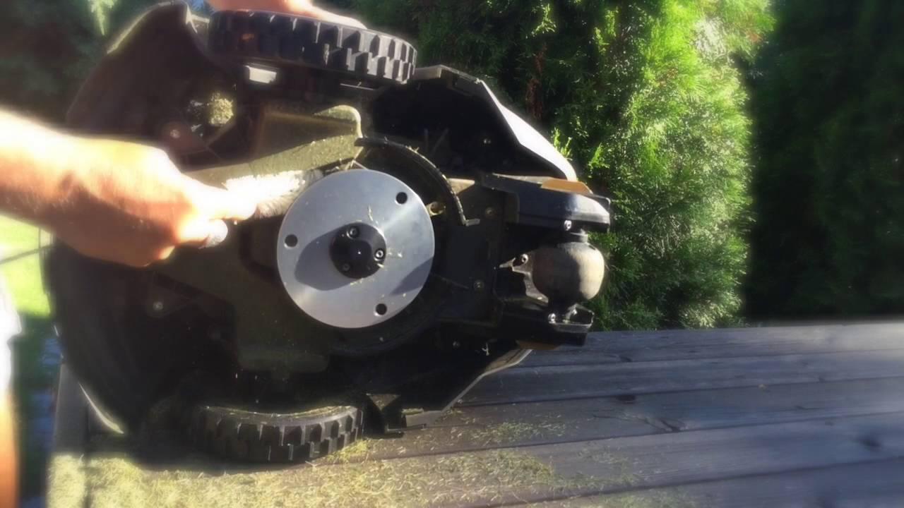 Husqvarna Automower 105. Puhdistus. - YouTube