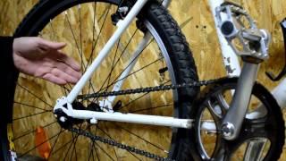Установка трансмиссии, ровняем петух, настраиваем ручки переключения.(В этом видео я возвращаю на мой велосипед трансмиссию. Была одно-скоростная, стала семи-скоростная. Расскаж..., 2015-12-31T15:23:07.000Z)
