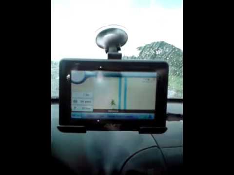 AVT A800 with Accumap- Mabalacat SCTEX lihis sa map