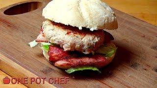 Easy Chicken Caesar Burgers | One Pot Chef