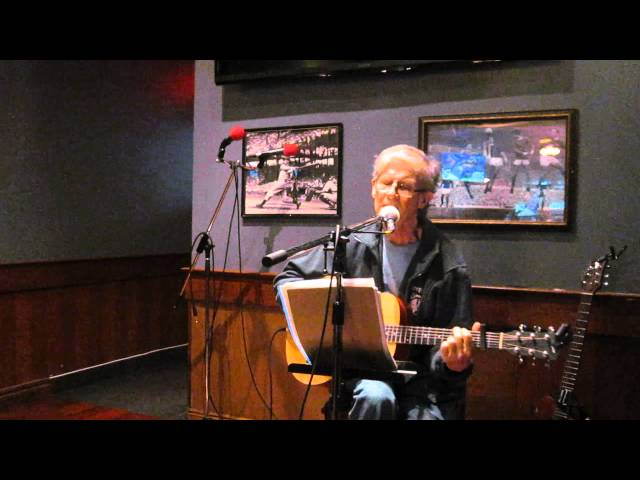 David Flack at Reba's Open Mic at Mackenzies Pub on Bloor West
