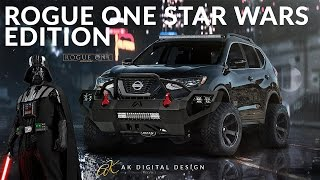 Rogue One: Lifted Nissan Rogue One Star Wars Edition | Rendering