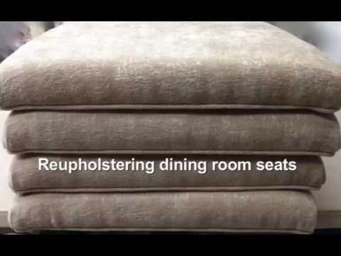 reupholstering dining room seats 2 sd 480p 2 youtube rh youtube com dining room table that seats 20 Seat Italian Dining