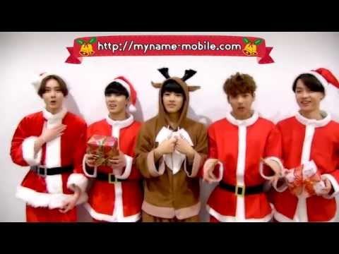MYNAME Christmas special message!!