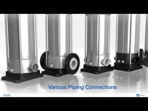 New EVMS - Vertical Multistage Pumps