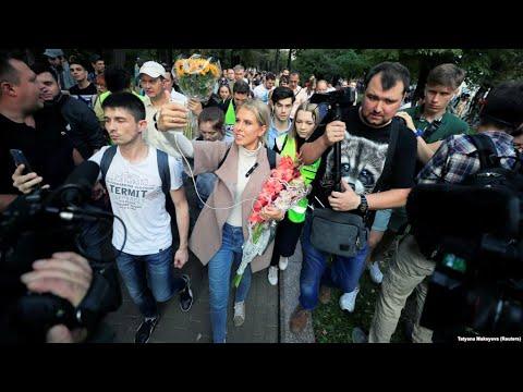 Шествие оппозиции в Москве   31.08.19
