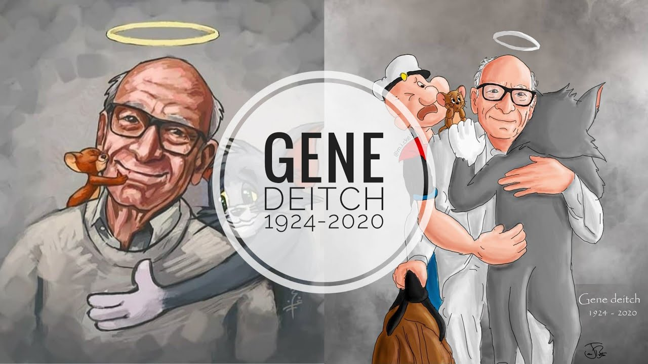 Tribute to Gene Deitch -Passed at 95   Director of Tom and jerry   Popeye  Info about his works