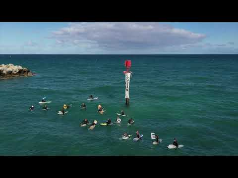 Ocean Reef Surfers Protest