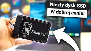 Dlaczego warto kupić dysk SSD?  Recenzja KINGSTON KC600 + KONKURS
