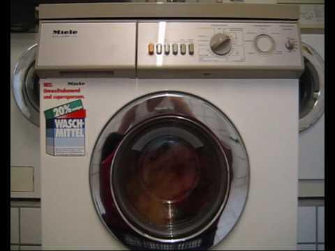 Miele Washing Machine >> Miele De Luxe Electronic W726 Teil I - YouTube