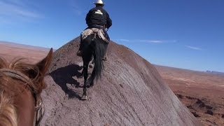 Monument Valley Land Of The Navajos -Trail Ride with Missouri Fox Trotters