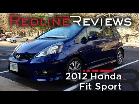 2012 Honda Fit Sport One Year Review Youtube