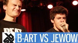 B-ART (NED) vs JEWOW (POR) |  Saint Legends Beatbox Battle  |  1/4 FINAL