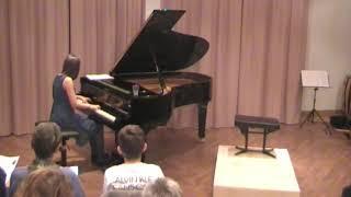 Grieg, Humoresque op 6, Nr 3, Janna Pape Piano