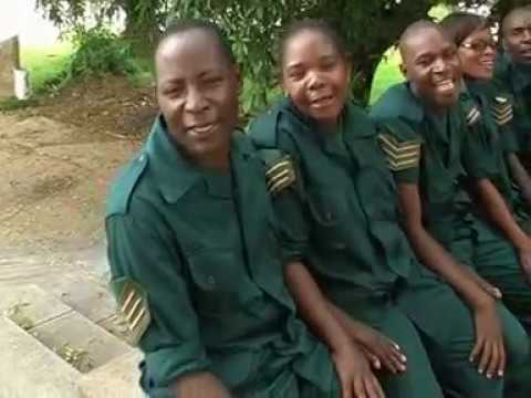 Defence & Security Choir zambia When The Trumpet Official Video