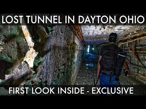 Abandoned EXCLUSIVE! | Another Hidden Underground Tunnel in Dayton, Ohio