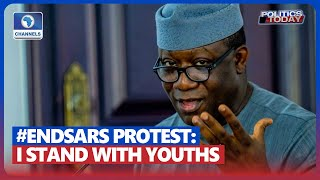 Fayemi: I Associate Myself With Youths' Call For End To Police Brutality