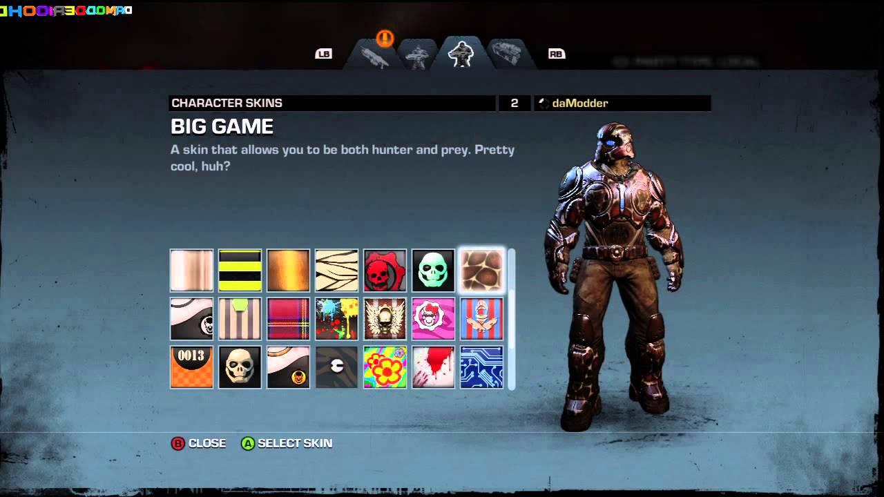 Gears Of War Judgment All Season Pass Unlocks Camos